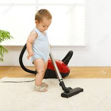 toddler-vacuuming